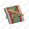 Ribbon Bar  - Hungary Fire Cross Medal with swords