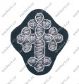 Officer's cap gothic cross for chaplains - WH / HEER