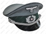 WH / HEER - German officer's cap - sappers - ( hand embroidered insignia)