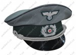 WH / HEER - German officer's cap - engineers