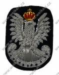 Eagle on the officers beret - armoured forces - Polish Armed Forces in the West