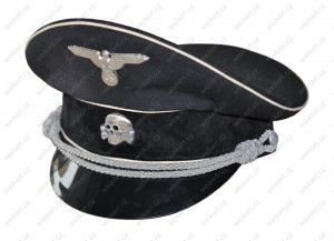 ALLGEMEINE SS - German officer's visor cap