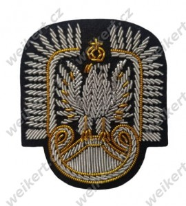 Officer's cap eagle - air forces - II RP (1918-1939) - Polish army in the interwar period