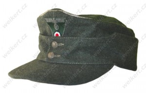 WH / HEER - German officer's M43 Field Cap