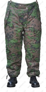 Winter pants - double sided - aged - WAFFEN SS